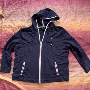 Ralph Lauren Full Zip Hooded Sweatshirt